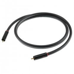 AUDIOPHONICS STEALTH Câble de Modulation Stéréo RCA-RCA Cuivre OFC ELECAUDIO 1.5m (La paire)