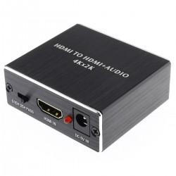 Extracteur HDMI vers HDMI ARC Optique / Jack 3.5mm 4K 3D CEC HDCP