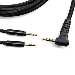 HIFIMAN CRYSTALLINE Balanced Jack 3.5mm to 2x Jack 3.5mm Cable OFC Copper 1.5m