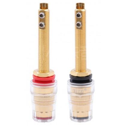 EIZZ EZ-303 Gold plated Binding posts Ø18mm x 78mm (Pair)