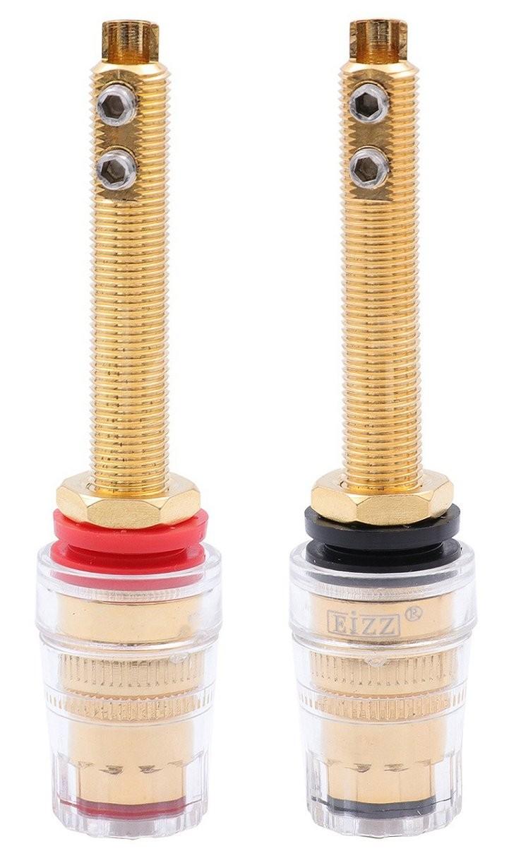 EIZZ EZ-303 Gold plated Speaker Binding posts (Pair)
