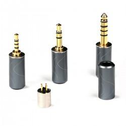 OEAUDIO MULTI-PLUG Set de Connecteurs Jack 2.5mm / 3.5mm / 4.4mm Interchangeables