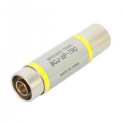 CANARE BCJ-XP-TRC Male AES/EBU 110 Ohm to Female Coaxial BNC 75 Ohm Adapter Impedance Transformer