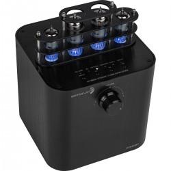 Dayton Audio HTA50BT Amplificateur Hybride à Tube BT5.0 Phono 2x25W / 4 Ohm
