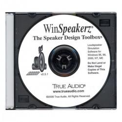 TRUE AUDIO WINSPEAKERZ Simulation Software for Speaker Design
