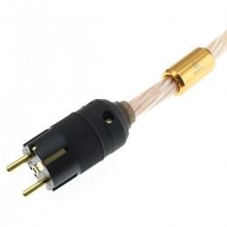 IFI AUDIO SUPANOVA Câble Secteur Cuivre OFHC Plaqué Or Blindé avec Technologie d'Annulation de Bruit