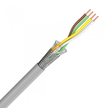 SOMMERCABLE CONTROL FLEX I2S transfert Cable 4x0.25mm² Ø 4.7mm