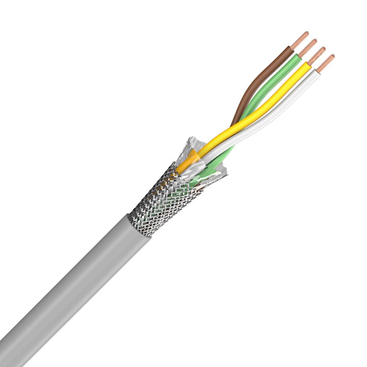 SOMMERCABLE CONTROL FLEX Câble de transfert I2S 4x0.25mm² Ø4.7mm