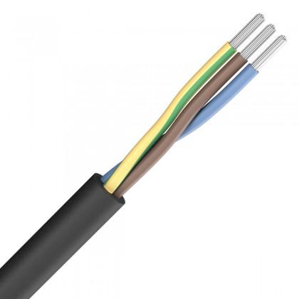 SOMMERCABLE SILCOFLEX Câble Secteur Silicone 3x1.5mm² Ø 15mm