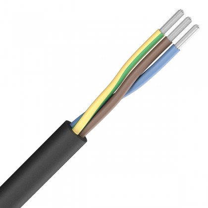 SOMMERCABLE SILCOFLEX Power cable Silicone 3x1.5mm² Ø 15mm