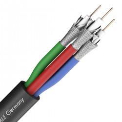 SOMMERCABLE TRANSIT 3 Câble Video RGB/YUV 75 ohm Ø11.2mm