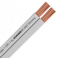 SOMMERCABLE TRIBUN Speaker flat cable OFC Copper 2x2.5mm²