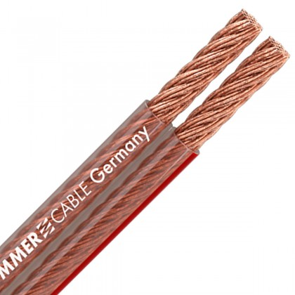 SOMMERCABLE TWINCORD Câble HP Cuivre OFC 2x4.0mm²