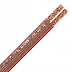 SOMMERCABLE TWINCORD Speaker cable OFC Copper 2x2.5mm²