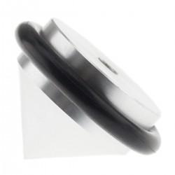 Pointe de Découplage M3 Aluminium Caoutchouc Ø31 x 21mm Noir (Unité)