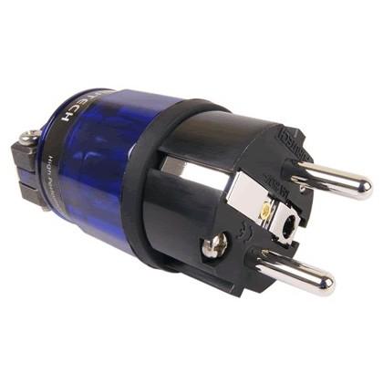 FURUTECH FI-E11-N1 Connecteur Schuko Amagnétique Rhodium Ø20mm