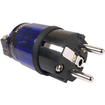 FURUTECH FI-E11-N1 (R) Connecteur Schuko Amagnétique plaqué Rhodium Ø20mm