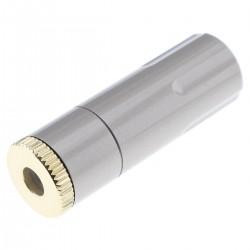 Connecteur Jack 4.4mm Femelle Symétrique Plaqué Or Ø8mm