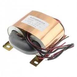 Transformateur R-CORE 120VA 2x115V vers 2x18V 3A