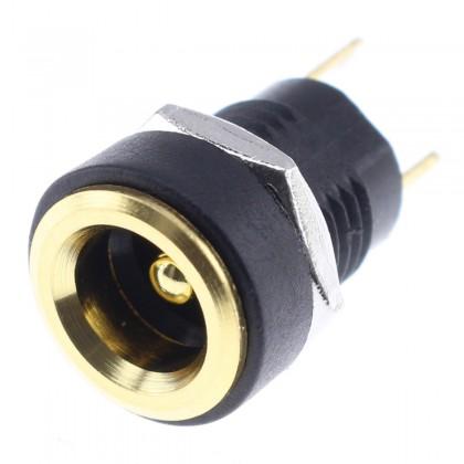 Embase Jack DC 5.5 / 2.1mm Plaquée Or