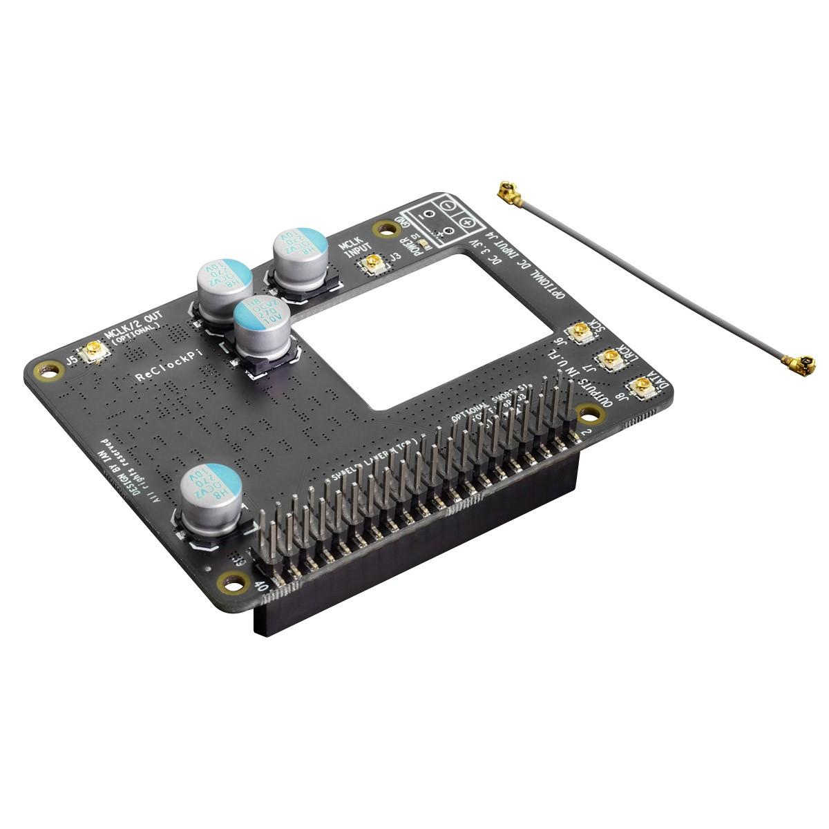 IAN CANADA RECLOCKPI Double Reclocker Faible Bruit / Faible Jitter I2S / DSD