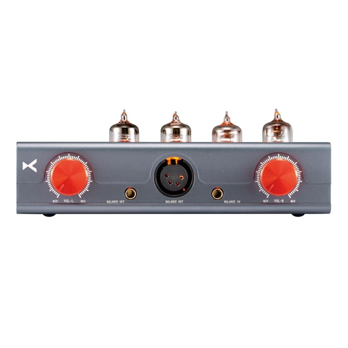 XDUOO MT-604 Headphone Amplifier 4x 6J1 Tubes Transistors Class A Balanced