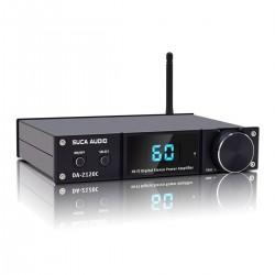 SUCA AUDIO DA-2120C Class D FDA Amplifier TAS5352A 2x90W 4 Ohm Bluetooth 5.0 Black