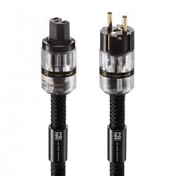 RAMM AUDIO ZEUS 5 Câble Secteur Schuko C15 Cuivre OCC Triple Blindage 1.5m