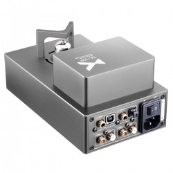 XDUOO TA-10R DAC AK4493 Amplificateur Casque à Tube Class A ECC82 32bit 384kHz DSD256