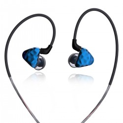 IKKO OH1S Écouteurs Intra-Auriculaires Dynamiques Knowles 33518 32Ω 109dB 20Hz-40kHz