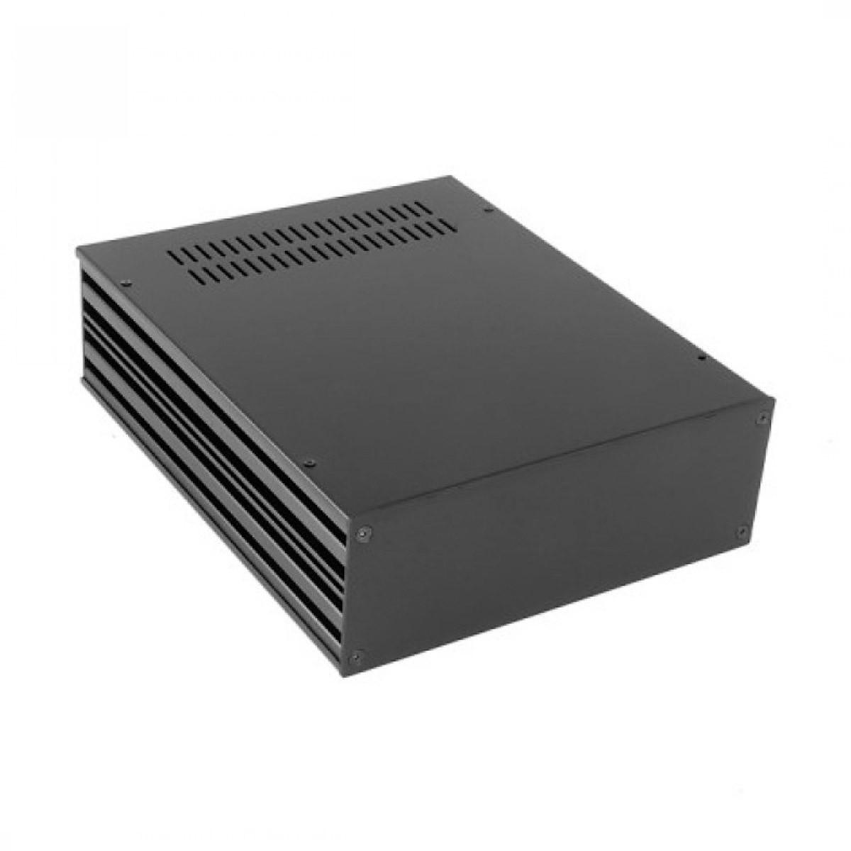 HIFI 2000 Boitier 3mm GX288 80x230x280 Façade Noire