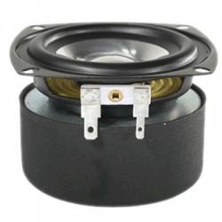 FOUNTEK FE87 Haut-Parleur Large Bande Aluminium 13W 8 Ohm 84dB 100Hz - 25kHz Ø8cm
