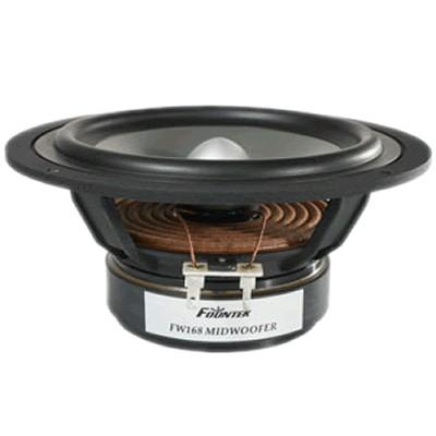 FOUNTEK FW168 Speaker Driver Midrange 50W 8 Ohm 87dB 40Hz - 4000Hz Ø16cm