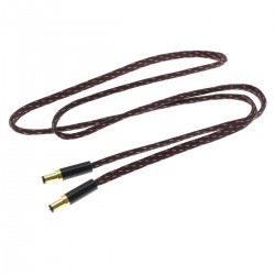 Power Cable Jack DC 2.1mm Gold Plated 1m