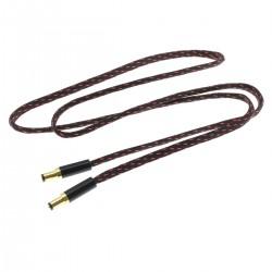 Câble d'Alimentation Jack DC 2.1mm vers DC 2.1mm Plaqué Or 0.5m