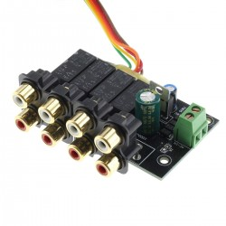 Kit source selector 4 channels stereo