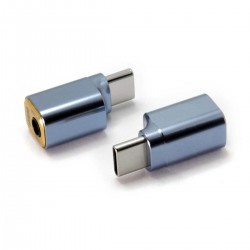 DD TC35B 2021 Male USB-C to Female Jack 3.5mm DAC Adapter CTIA 32bit 384kHz