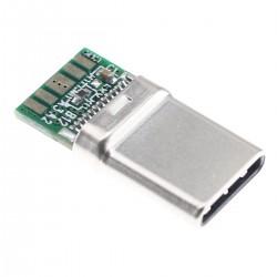 Connecteur USB-C 3.0 Mâle DIY OTG 5Gbps