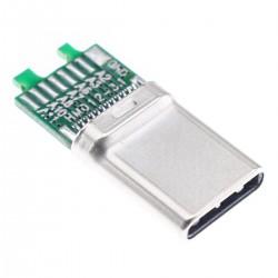 Connecteur USB-C 3.1 Mâle DIY 10Gbps