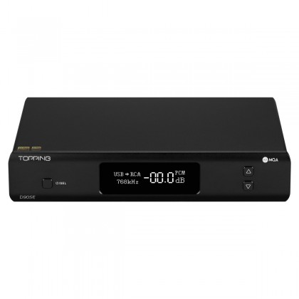 TOPPING D90SE Balanced DAC ES9038Pro 32bit 768kHz DSD512 Black