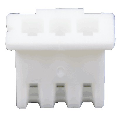 XH 2.54mm Female Casing 3 Channels White (Unit)