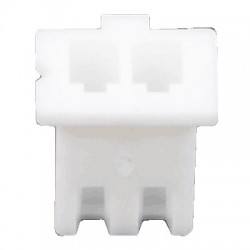 XH 2.54mm Female Casing 2 Channels White (Unit)