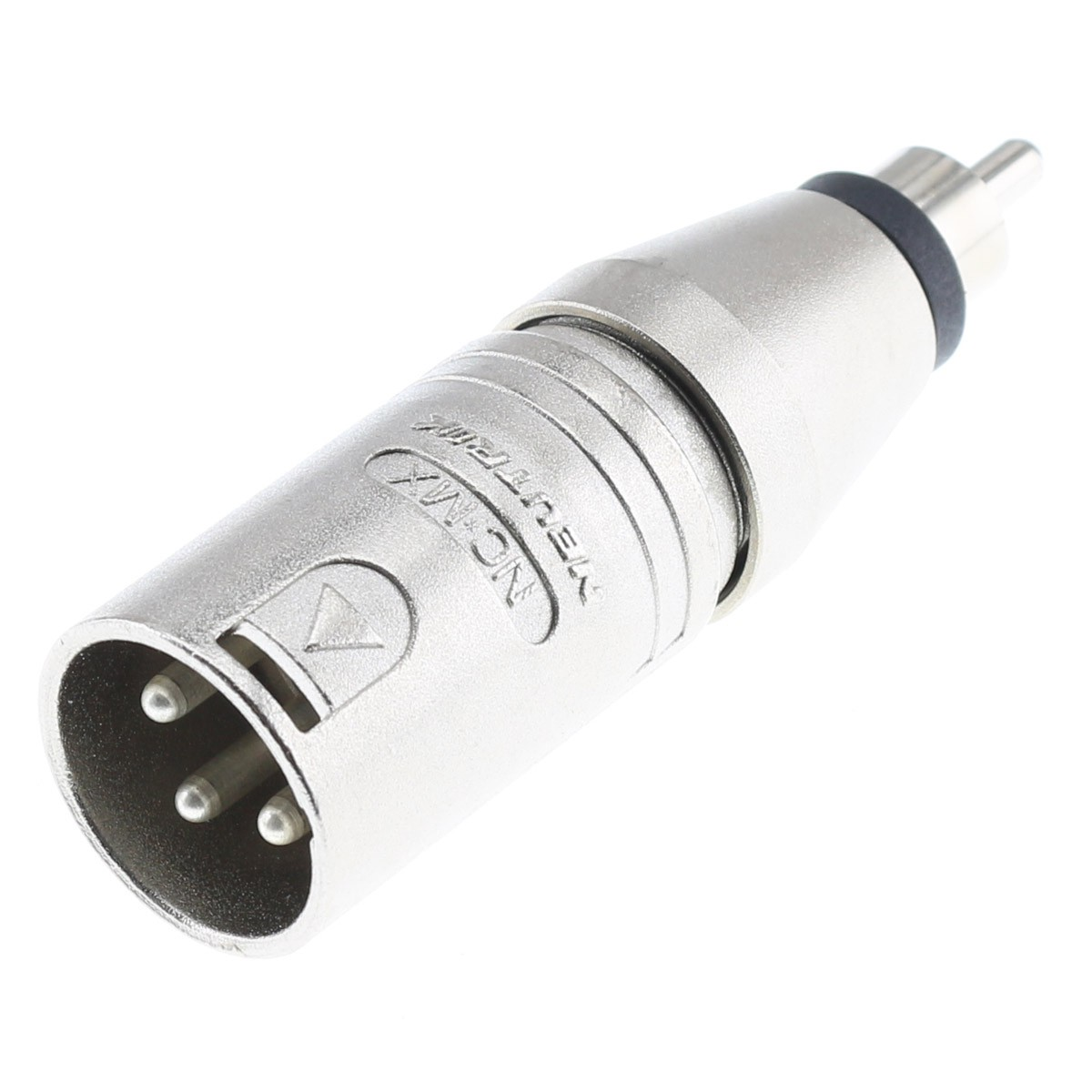 NEUTRIK NA2MPMM Male XLR Male to Male RCA Adapter
