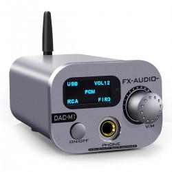 FX-AUDIO DAC-M1 DAC ES909038Q2M XMOS 32bit 768kHz DS512 Gris