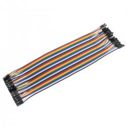 Female-Female 2.54 to 2.0mm GPIO Jumper Wires (x40)