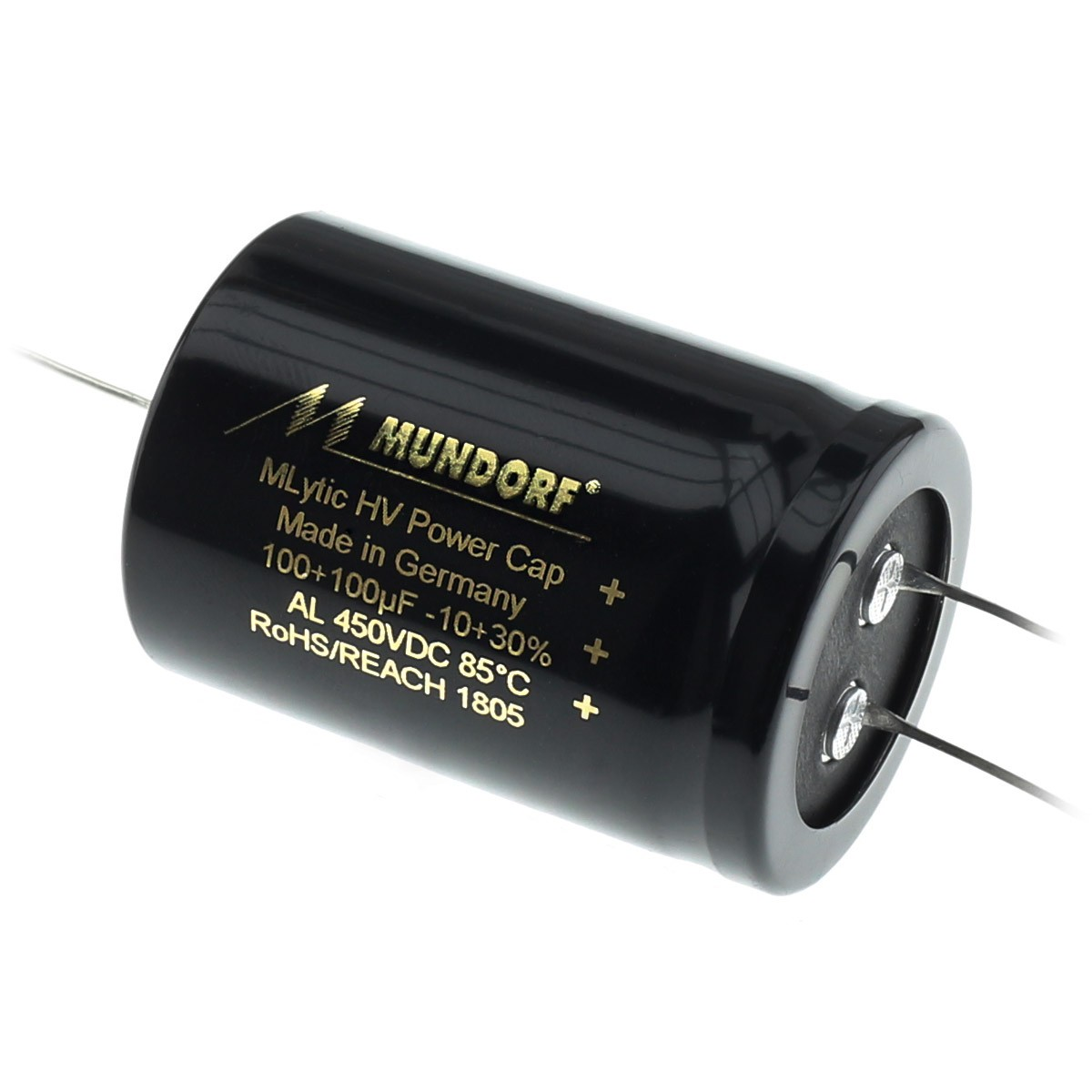 MUNDORF MLYTIC HV Condensateur 450V 100+100µF