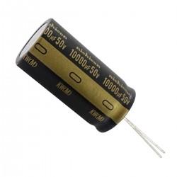 Nichicon KW - Condensateur électrolytique Audio 50V.. 10000µF