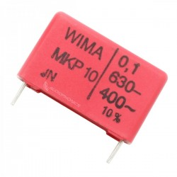 WIMA MKP 10 Polypropylene Capacitor 15mm 630V 0.1µF
