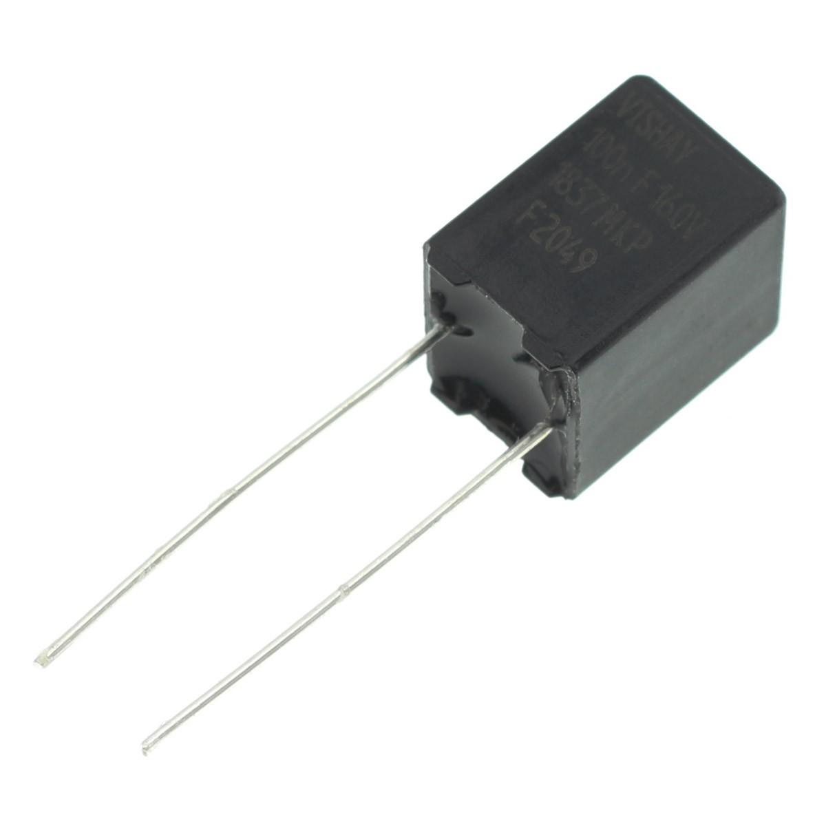 VISHAY ERO MKP1837 Condensateur Polypropylène 5mm 160V 0.1µF