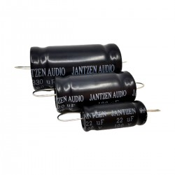 JANTZEN AUDIO ELECAP Condensateur Électrolytique 100V 100µF 5%